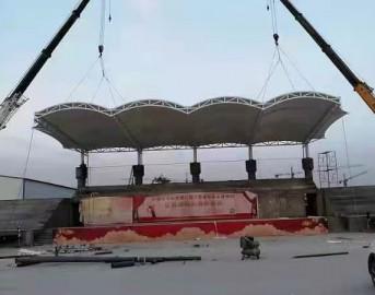 膜结构看台遮阳棚