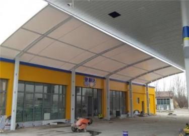 加油站雨棚膜结构
