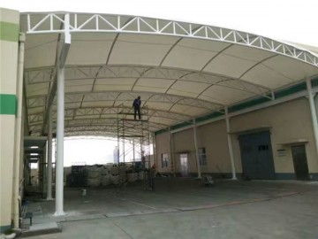 膜结构加油站雨棚